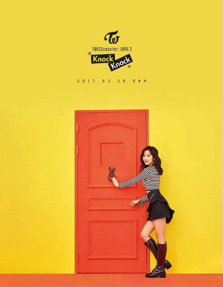 TWICE Knock Knock Poster Mina