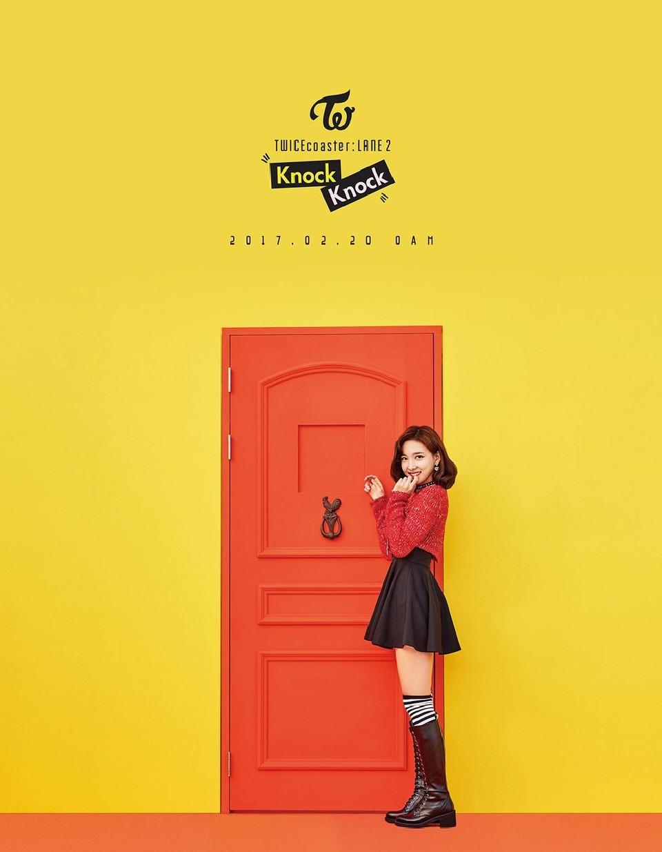 TWICE Knock Knock Poster Nayeon