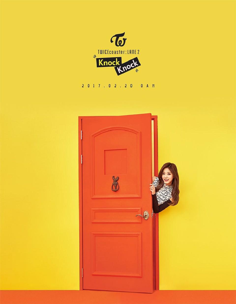 TWICE Knock Knock Poster Tzuyu