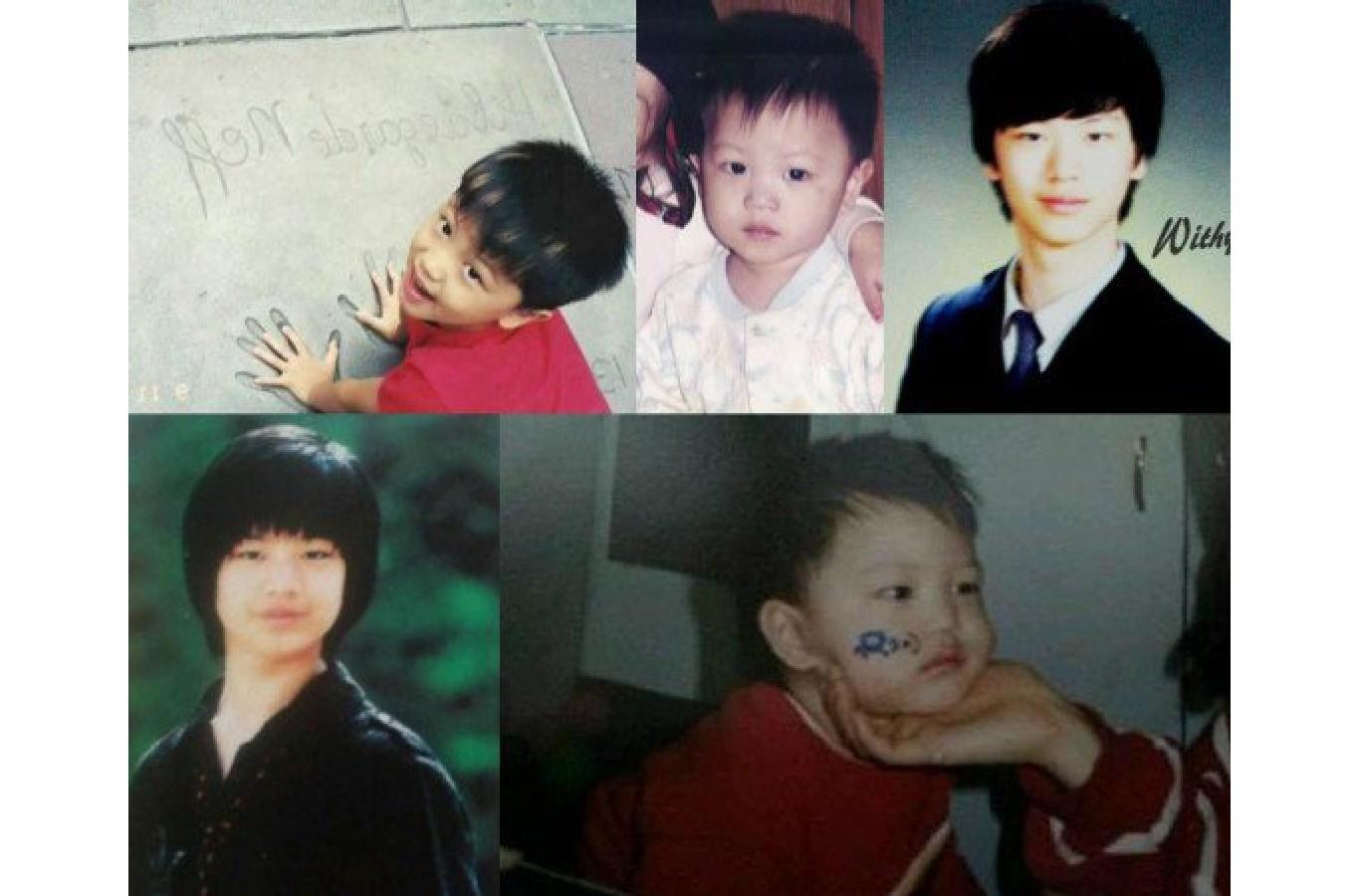 Yook Sung Jae Childhood Photo 4