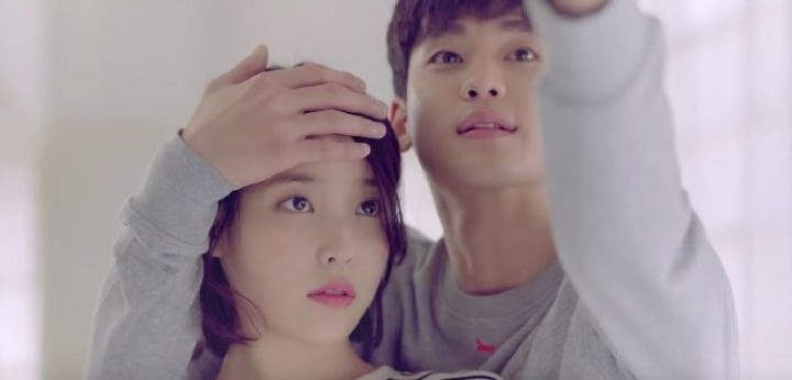 IU And Kim Soo Hyun In Ending Scene