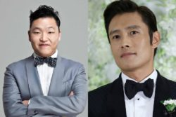 Lee Byung Hun And PSY