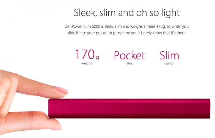 ZenPower Slim 6000mAH Kecil2 Cabe Rawit