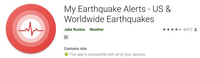 My EarthQuake