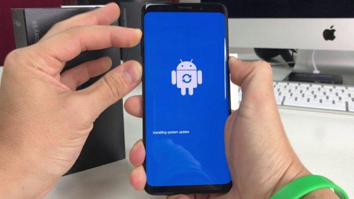 Reset Factory Samsung Galaxy S9
